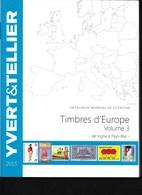 Catalogue De Cotation Des Timbres D'Europe 2015 Volume 3 - Briefmarkenkataloge