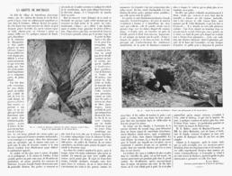"""LA GROTTE DE BOUTIGUES Prés De """" SAINT- FRONT """"  (  LOT-ET-GARONNE )   1902 - Aquitaine"""