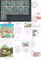 FRANCE : Petit Lot De Timbres Et Documents. - Collections