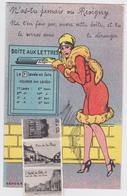 REVIGNY (Meuse) - Carte à Système Multivues Dépliant Boîte Aux Lettres - Revigny Sur Ornain