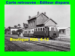 BVA 598-01 - Autorail Berliet Et Remorque Billard En Gare - HUCQUELIERS - Pas De Calais - VFIL - France