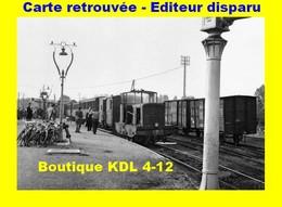 BVA 598-02 - Train - Locotracteur En Gare - MONTREUIL SUR MER - Pas De Calais - VFIL - Montreuil
