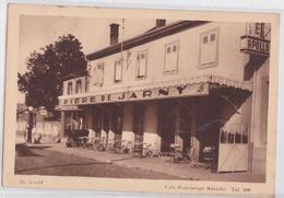 Saint-Avold (Moselle) - Café-Restaurant Bataille Bière De Jarny Pompe à Essence - Saint-Avold