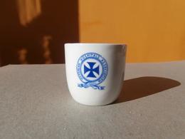 Victorian Hospital Association Little Sugar Bowl Sucrière- Globe Pottery C°Ltd -J.Dynan Melbourne 40s 50s - Equipo Dental Y Médica