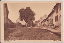 HOMBOURG-HAUT (Moselle) - Rue De L'Eglise - Francia
