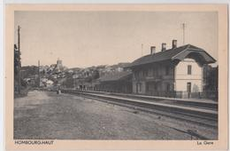 HOMBOURG-HAUT (Moselle) - La Gare - Francia