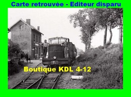 BVA 598-03 - Train, Locotracteur En Gare - WAILLY-BEAUCAMP - Pas De Calais - VFIL - France