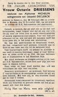 Halluin, Halewijn, Menen, 1941, Octavie Driessens, Michelin, Declerck - Imágenes Religiosas