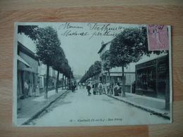 Cpa Corbeil Rue Feray - Corbeil Essonnes