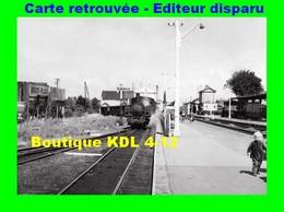 BVA 598-04 - Train - Loco Vapeur Entrant Gare - RANG DU FLIERS - Pas De Calais - VFIL - France