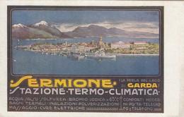 Pubblicitarie - Publicitè - Advertising - Sermione  - Stazione Termo Climatica - F. Piccolo - Bella - Publicité