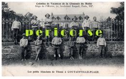50  Coutainville  Colonies De Vacances De La Chaussée Du Maine - Other Municipalities