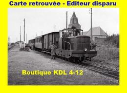 BVA 598-06 - Train - Locotracteur En Gare - BERCK-VILLE - Pas De Calais - VFIL - Berck