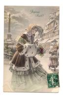 CPA VIENNOISE : FEMME ELEGANTE - NOEL - M.M.VIENNE 599 - MUNK - - Vienne