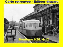 BVA 598-07 - Autorail Billard En Gare - BERCK-PLAGE - Pas De Calais - VFIL - Berck