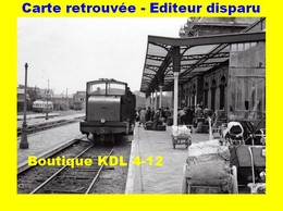 BVA 598-08 - Train - Locotracteur En Gare - BERCK-PLAGE - Pas De Calais - VFIL - Berck