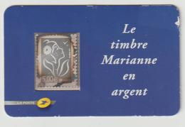 """TIMBRE  -  Adhésif   """" Le Timbre Marianne En Argent """"  - Adhésif   N° 85 En Argent  -  2006 -  Neuf - Unused Stamps"""