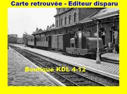 BVA 598-09 - Train - Locotracteur En Gare - BERCK PLAGE - Pas De Calais - VFIL - Berck
