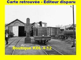 BVA 598-10 - Locotracteur Au Dépôt - BERCK PLAGE - Pas De Calais - VFIL - Berck