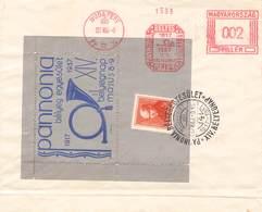 UNGARN - BRIEF 1937 TAG DER BRIEFMARKE /ak498 - Briefe U. Dokumente