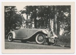 E378 Photographie Originale Vintage Automobile Voiture Car Ancien Ancienne Décapotable - Automobili