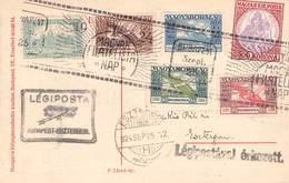 UNGARN - POSTKARTE 1924 TAG DER BRIEFMARKE /ak500 - Briefe U. Dokumente