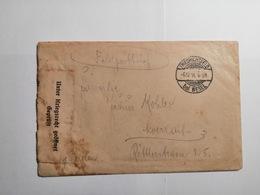 Deutsches Reich  Feldpostbrief 1916 - Allemagne