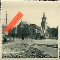 Mulhouse 68 Haut-Rhin Militaria Bombardement Poste Près De La  Gare 11.05.1944 Format (12x12) En L'état - Fotos