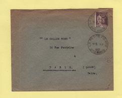 La Petite Pierre - Bas Rhin - 14-10-1937 - Type Paix - 1921-1960: Modern Tijdperk
