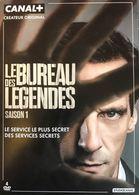 LE BUREAU DES LEGENDES SERIE 1 - 5 DVD - MATHIEU KASSOVITZ - Séries Et Programmes TV