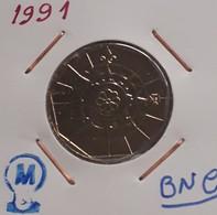 1991 Portugal 20 Escudos  1991 BNC Rare - Portugal