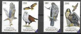 VANUATU, 2019, MNH, BIRDS, BIRDS OF PREY, FALCONS, KITES, GOSHAWKS, 4v - Eagles & Birds Of Prey