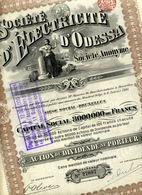 Société D'ÉLECTRICITÉ D'ODESSA - Russie