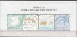 Australian Antarctic Territory 2019 Bloc Feuillet 100 Ans Cartes Du Territoire Neuf ** - Neufs