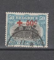 COB 159 Oblitéré - 1918 Croix-Rouge