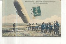 Kaisermanover, Manoeuvres Impériales Allemandes, La Télégraphie Sans Fil - Manöver