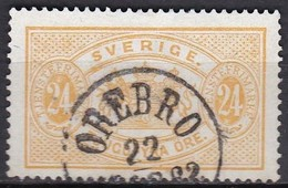 S317 – SUEDE – SWEDEN – 1881-1896 – PERF 13 – Y&T # 8A USED – 25 € - Service