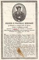 CG - Fattura Ditta Filippo E Fratelli Giussani - Milano 23/4/1818?? - Fabbrica Di Spallini, Dragone Ecc. Ecc. - Italia