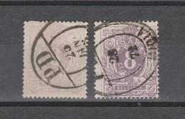 COB 29 - 29a Oblitération Centrale Journaux PD Superbes - 1883 Léopold II