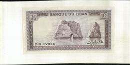 Liban  Banque  10  Livres  (cahier Billet 03) - Liban