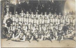 Militaria - Carte Photo Groupe De  Soldats - - Personnages