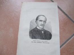 Religione Cristianesimo Antica Stampa Epoca Prov.libro GARCIA MORENO Terz.Francescano Repubblica Equatore - Old Paper