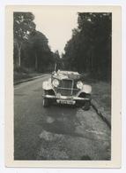 E392 Photographie Originale Vintage Automobile Voiture Car Ancien Ancienne Décapotable - Automobili