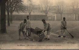 36 LE BLANC  68e REGIMENT D'INFANTERIE  LA CORVEE DE QUARTIER - Guerra 1914-18