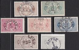 S320 – SUEDE – SWEDEN – 1881-1896 – PERF 13 – LOT USED 11 € - Service