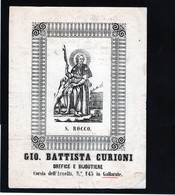 CG - Fattura Ditta Gio.Battista Curioni - Gallarate 25/8/1833 - Orefice E Bijouterie - Italia
