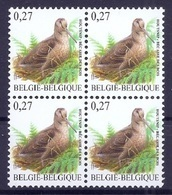BELGIE * Buzin * Nr 3898 * Postfris Xx * FLUOR  PAPIER - 1985-.. Pájaros (Buzin)