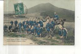 Infanterie Allemande En Manoeuvre Au Donon - Manoeuvres