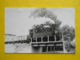 Photo J.Bazin ,gare , Train ,tramway,Meaux , Au Dessus Du Canal De L'Ourcq - Treni