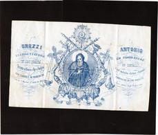 CG - Fattura Ditta Ghezzi Antonio - Inargentatore Ed Indoratore - Italia